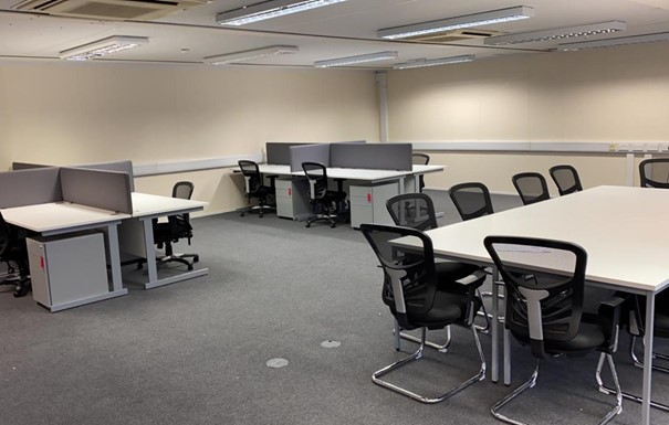 Ruislip office furniture install